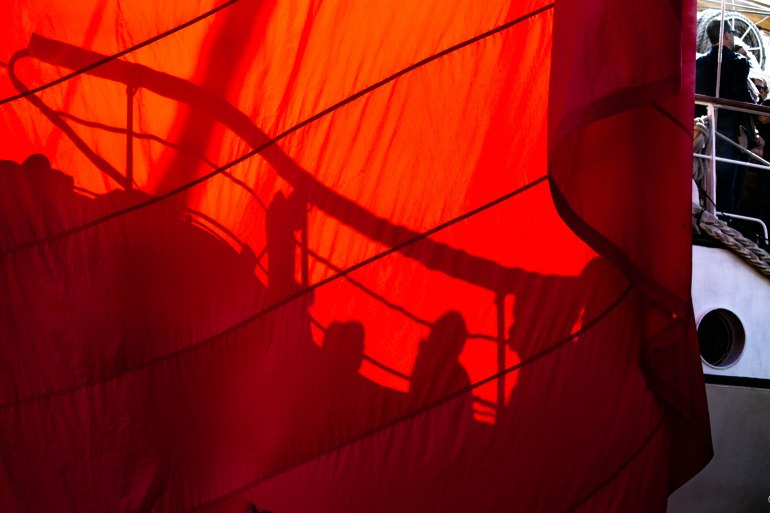 Ombres rouge